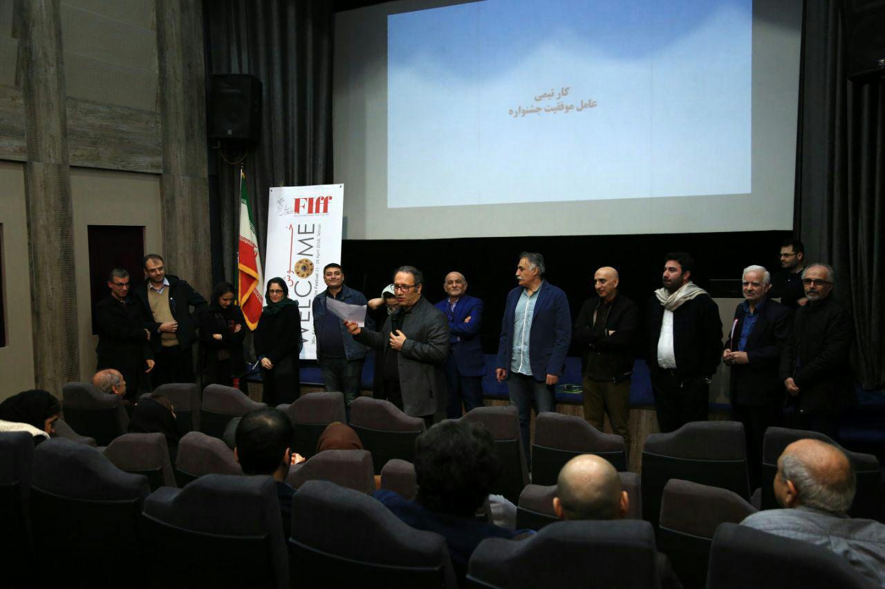 گپ دبیر جشنواره جهانی فیلم فجر با سینماگران