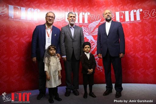وزیر در جشنواره جهانی فیلم فجر